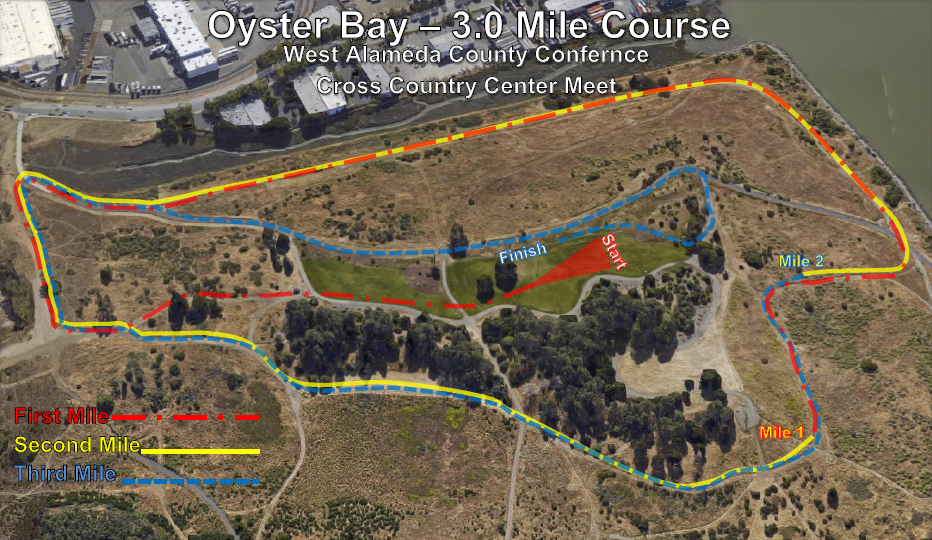 Oyster Bay 3mile Map